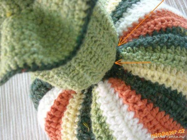 Веселое вязание крючком - ПОЛОСАТЫЕ ТЫКОВКИ (24) (600x450, 143Kb)