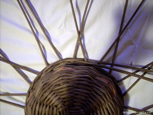 ШЛЯПКИ. Плетение из газетных трубочек (7) (640x480, 163Kb)