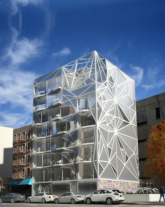 современная футуристическая архитектура 1 (560x700, 429Kb)