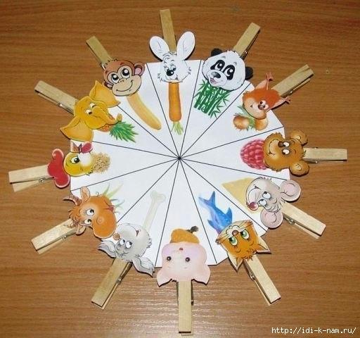 дидактическая игра кто что ест, дидактические игры для дошкольников, Хьюго Пьюго рукоделие,