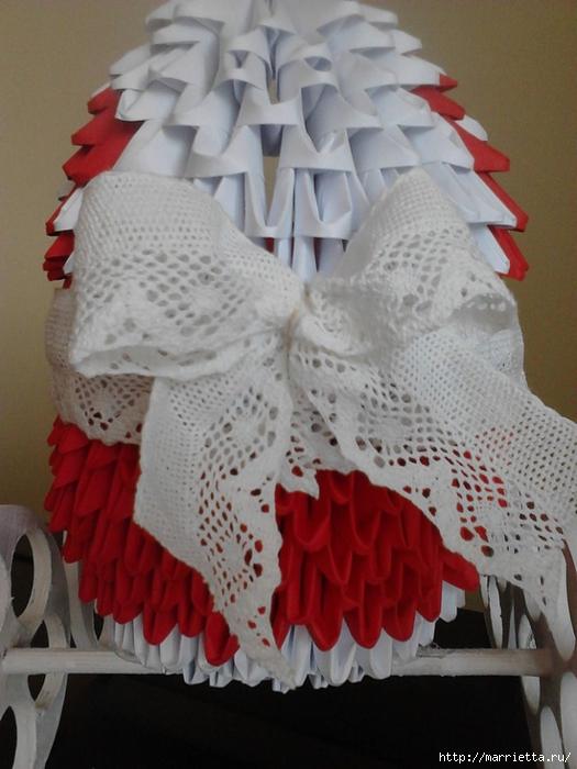 Модульное оригами. Коляски (13) (525x700, 243Kb)