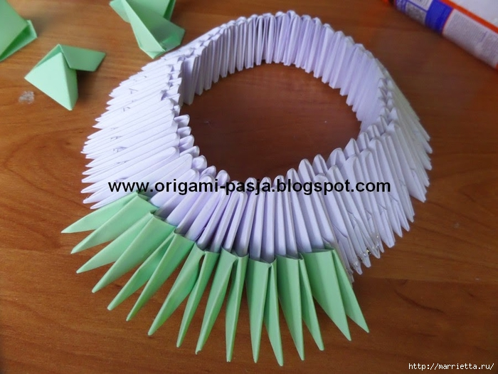 Модульное оригами. Коляски (17) (700x525, 250Kb)