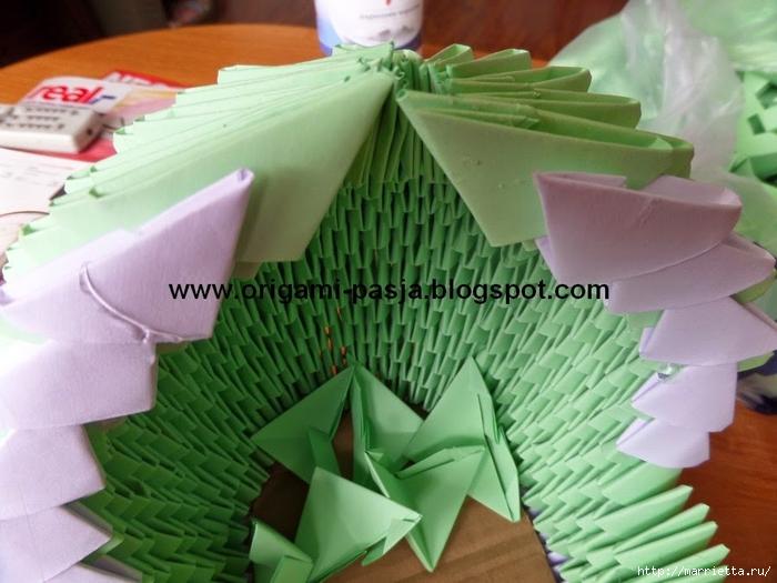 Модульное оригами. Коляски (24) (700x525, 251Kb)