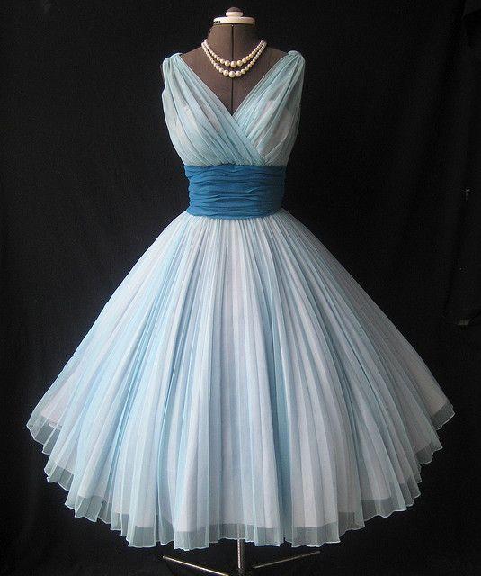 Мода 1950 годов платья