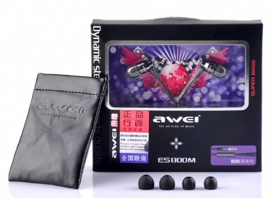 Экспресс-обзор наушников Awei ES800M (или может ли дешёвое быть хорошим)