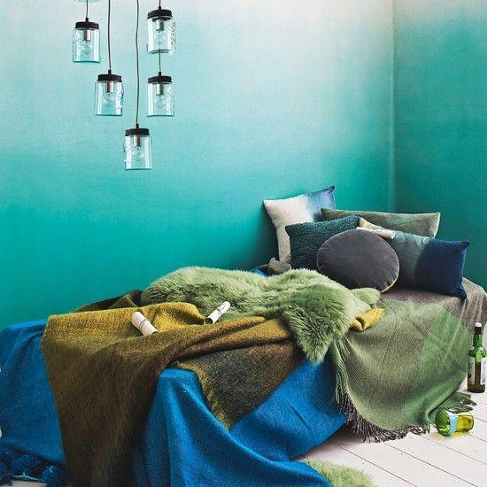 Aqua wall decor