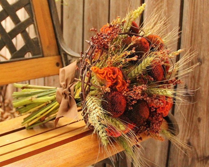 Earthy Fall Wedding Bouquet (700x560, 359Kb)
