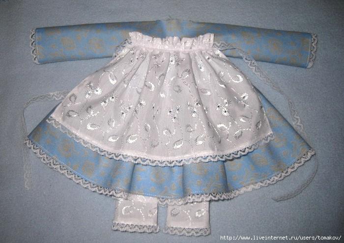 Платья для кукол своими руками из носков