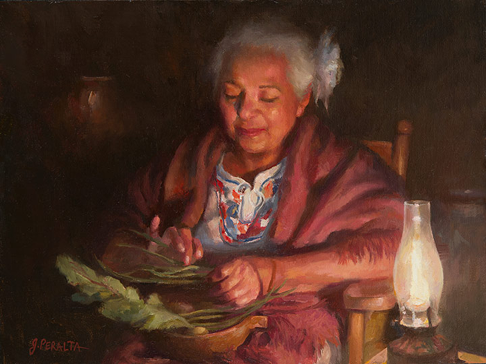 Grandmas-Recipe-12x16-oil (700x525, 487Kb)