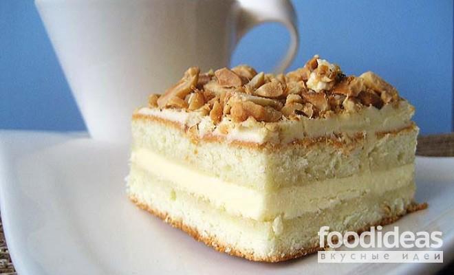 торт с масляным кремом рецепт с фото