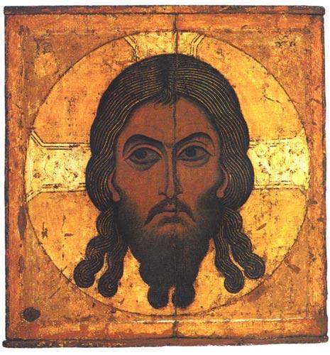 Икона Спас Нерукотворный XII века (465x500, 68Kb)