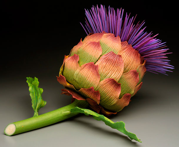 BloomingArtichokeSculptureContainer500 (608x500, 188Kb)