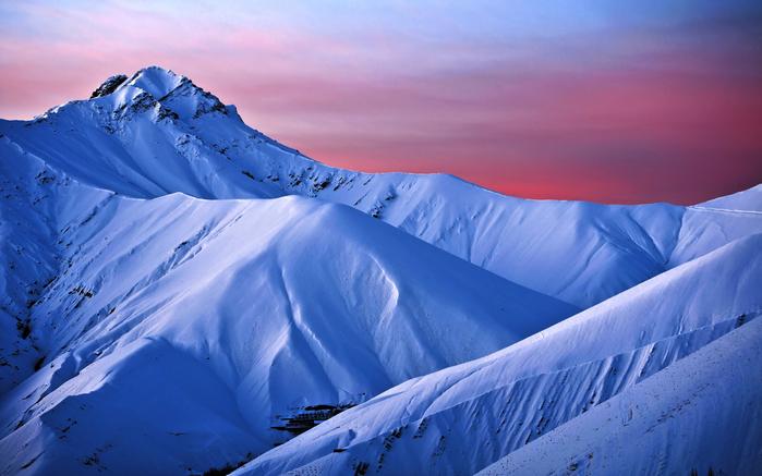4. Синие горы. Восход в горах (700x437, 349Kb)