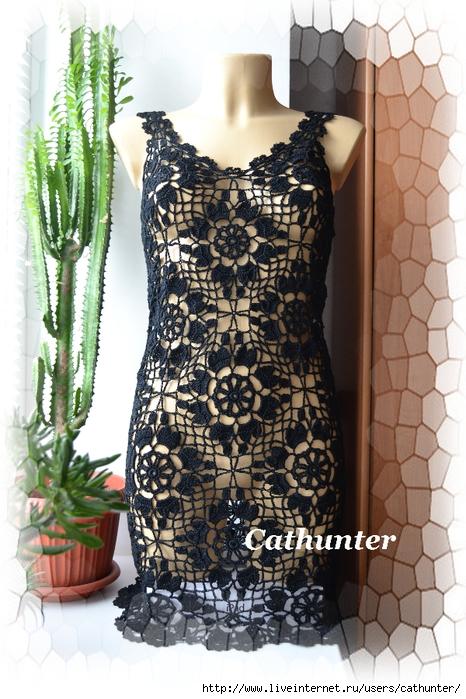 черное платье (140) (466x700, 306Kb)