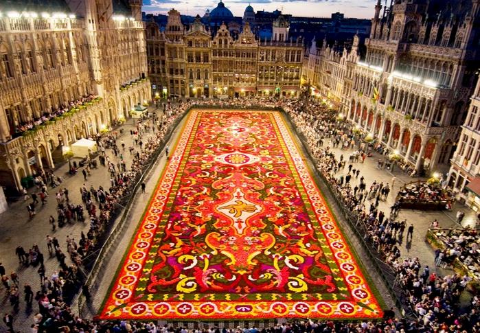 цветочный ковер брюссель фото 1 (700x485, 387Kb)
