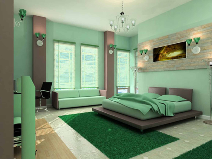 green-interior-design-for-master-bedroom-decor (700x525, 271Kb)