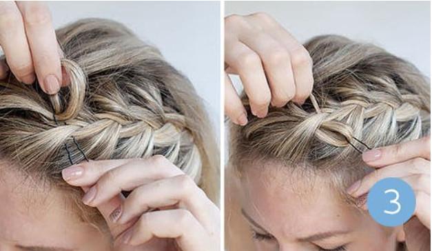 Как сделать бантики на косе