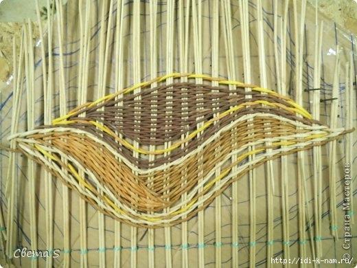 Плетение с перетяжкой