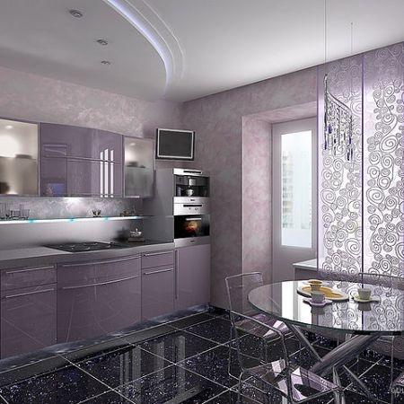 Красивый дизайн маленькой кухни1 (450x450, 121Kb)