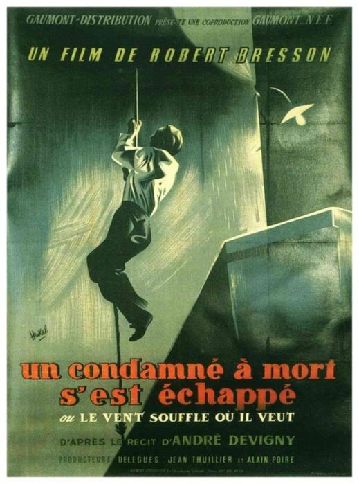 «Приговоренный К Смерти Бежал, Или Дух Веет, Где Хочет» — 1956