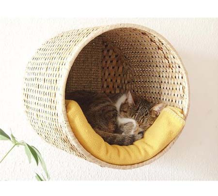 Домик для кота своими руками с картона