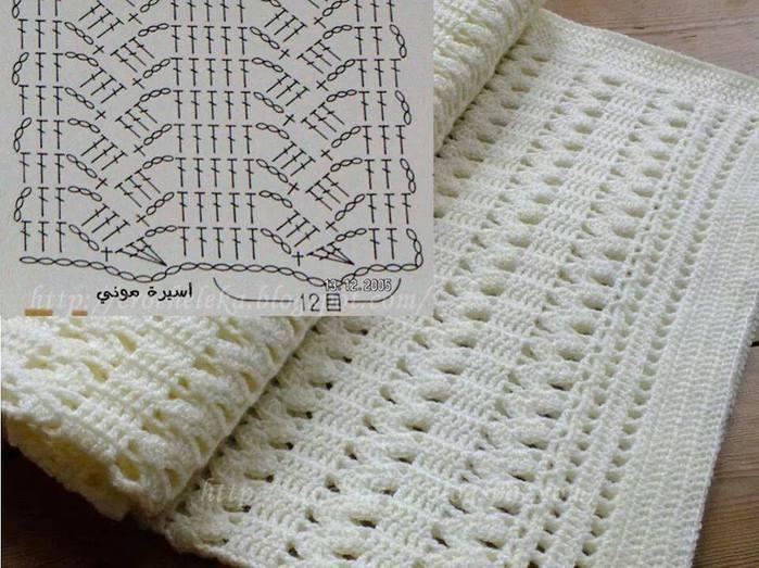 схема для шарфа (700x523, 71Kb)