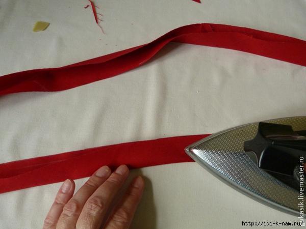 мастер класс по косой бейке, как сделать косую бейку Хьюго Пьюго, как выкроить косую бейку,