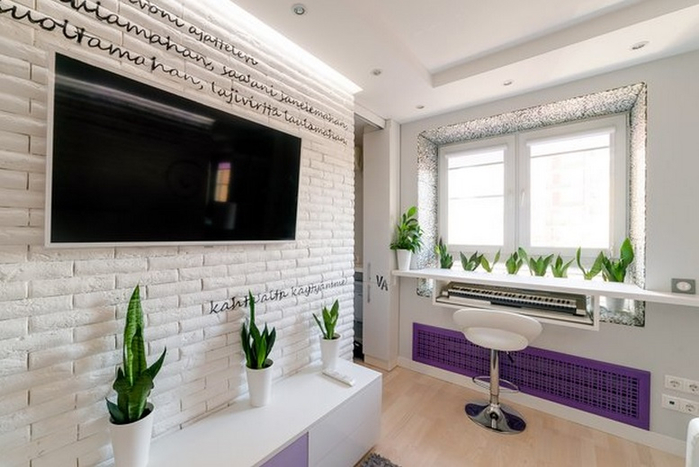 Советы по оформлению малогабаритных квартир. Как обустроить 20-метровую квартиру (1) (700x467, 268Kb)