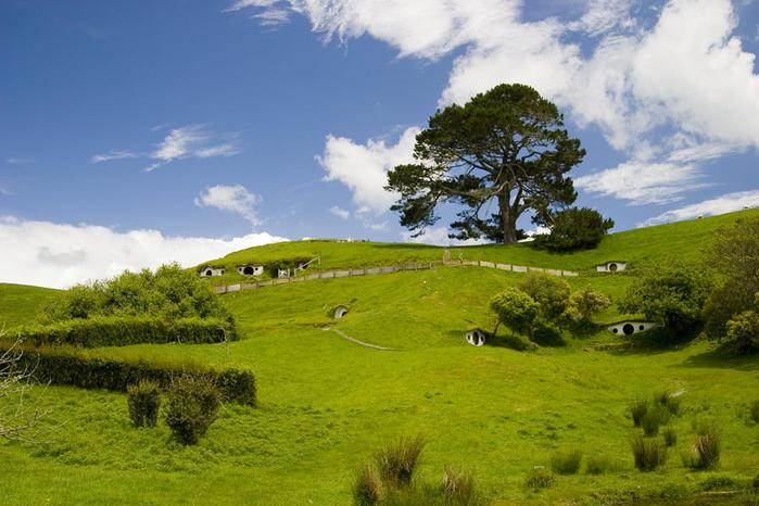 . Новая Зеландия. Матамата. Хоббитон. (700x466, 375Kb)