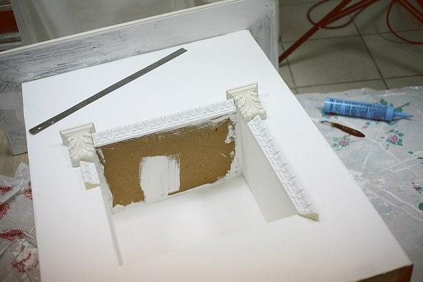 Картонный камин своими руками пошаговая инструкция