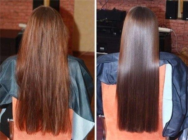 как придать волосам блеск
