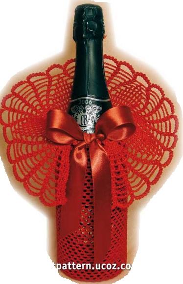 Наряжаем шампанское и коньяк для подарка (2) (374x582, 189Kb)
