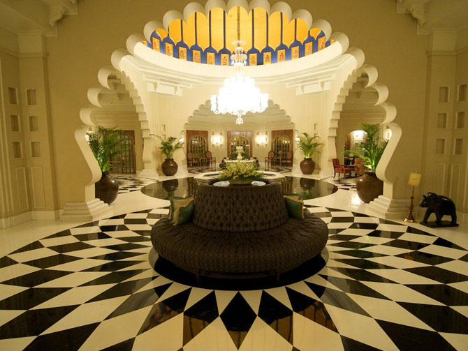 отель Oberoi Udaivilas индия 5 (670x503, 269Kb)