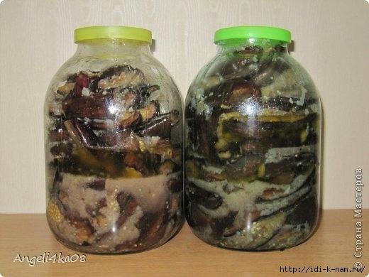 как заготовить баклажаны на зиму, рецепт вкусных баклажанов, как приготовить баклажаны в маринаде, Хьюго Пьюго рукоделие,