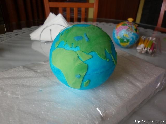 УЧЕНАЯ СОВА из марципана для детского торта. Фото мастер-класс (16) (640x480, 108Kb)