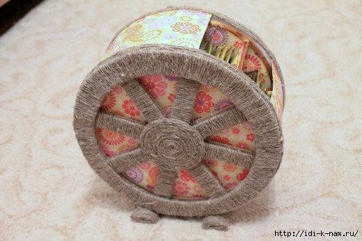 Чайное колесо своими руками 85