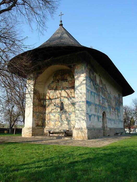 5. Расписная церковь в Арборе (525x700, 390Kb)