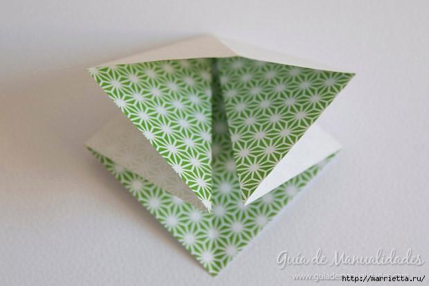 Как сложить красивый бант из бумаги в технике оригами (3) (620x413, 115Kb)
