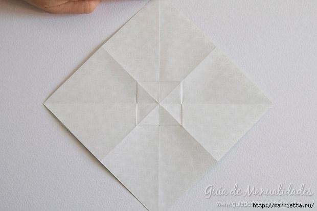 Как сложить красивый бант из бумаги в технике оригами (7) (620x413, 102Kb)