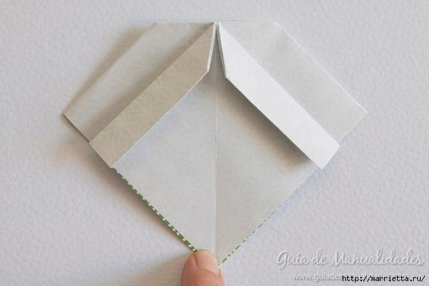 Как сложить красивый бант из бумаги в технике оригами (10) (620x413, 104Kb)