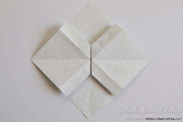 Как сложить красивый бант из бумаги в технике оригами (15) (620x413, 107Kb)