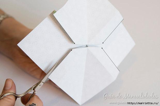 Как сложить красивый бант из бумаги в технике оригами (17) (620x413, 89Kb)