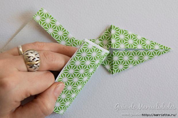 Как сложить красивый бант из бумаги в технике оригами (20) (620x413, 161Kb)