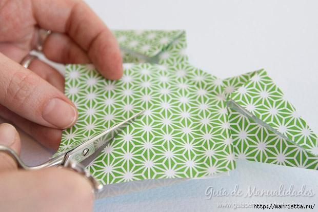 Как сложить красивый бант из бумаги в технике оригами (22) (620x413, 162Kb)