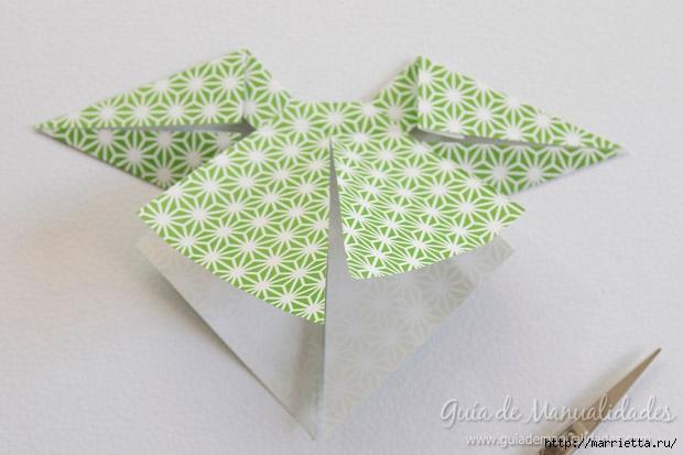 Как сложить красивый бант из бумаги в технике оригами (23) (620x413, 135Kb)