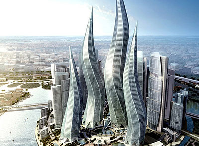 Впечатляющая архитектура Дубаи. Здания из металлоконструкций переходящие грань настоящего и будущего!