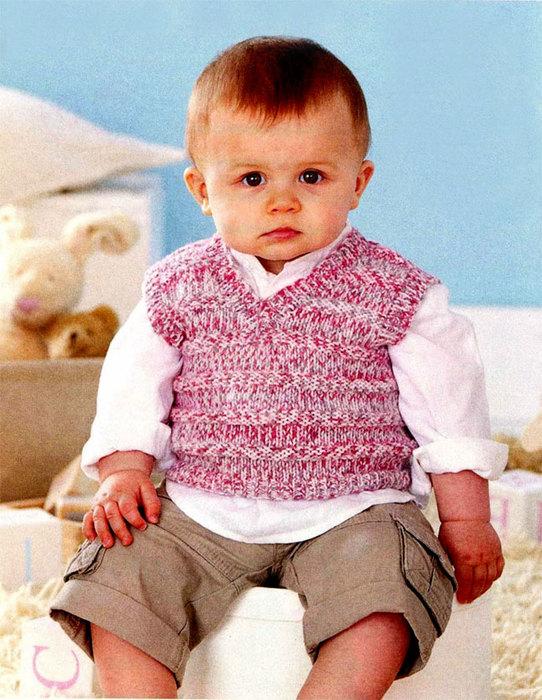 Вязание для ребенка на 2 года 556