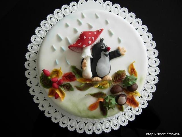 Осенние марципановые 3D торты. Идеи (4) (640x480, 109Kb)