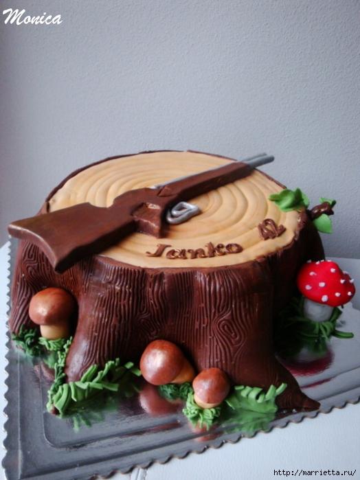 Осенние марципановые 3D торты. Идеи (23) (524x700, 257Kb)