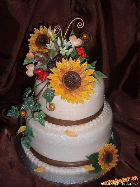 Осенние марципановые 3D торты. Идеи (32) (450x600, 150Kb)